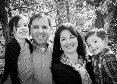 Family - Yes! tight crop bw (1 of 1)